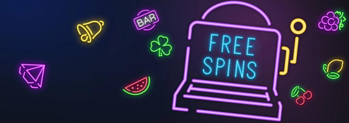 Få free spins att spela med i casino